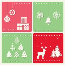 Free Set Of Winter Celebration Images Stock Photos - 33367843