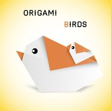 Free Birds Origami Royalty Free Stock Photography - 33370677