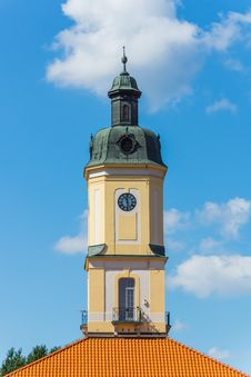 Free Tower Of The Town Hall In Bialystok Stock Photos - 33375263