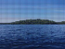Free Island In The Lake Mosaic Royalty Free Stock Images - 33377389