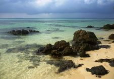 Free Tanjung Gelam Beach Royalty Free Stock Photo - 33377935