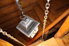 Free Black Lantern Lights Wooden Stairs Royalty Free Stock Photos - 33386148