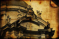 Free Facade Of The Dominican Church In The Old Part Of Lviv &x28;stylized Stock Photos - 33399073
