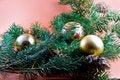 Free Christmas Decoration-pine Tree Stock Photo - 3344810