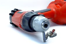 Free Cordless Drill Royalty Free Stock Photography - 3340107