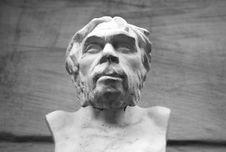 Free Sculpture Of Ancient Man Stock Photos - 3340493