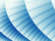 Free Blue Curtain Stock Photography - 3340582