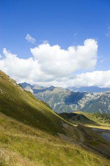 Free Alpine Panorama Stock Images - 3341174