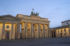 Free Brandenburger Tor Royalty Free Stock Photography - 3341837