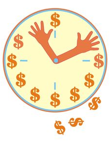 Free Time-money Stock Photo - 3341880