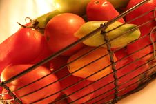 Free Fresh Natural Genuine Tomatoes Stock Image - 3342551