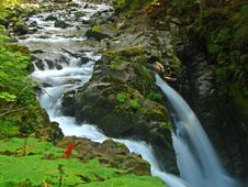 Free Sol Duc Falls, Olympic Park Stock Photos - 3342773