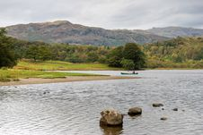 Free Canoe On Rydal Water Stock Image - 3342811