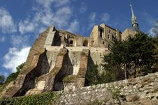 Free Mont Saint-Michel Royalty Free Stock Photos - 3342898