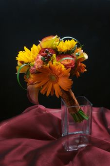 Free A Beautiful Floral Bouquet Royalty Free Stock Photo - 3343595