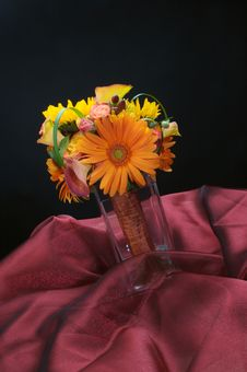 Free A Beautiful Floral Bouquet Stock Image - 3343601