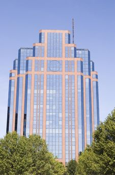 Free Glass Building In Trees Royalty Free Stock Image - 3343876