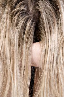 Free Just Check My Long Hair. Royalty Free Stock Image - 3344076