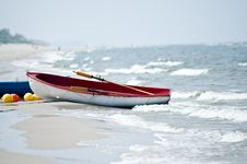 Free Anchored Boat Stock Photo - 3344090