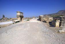 Hierapolis Landscape Royalty Free Stock Photo