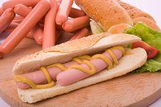 Free Hot Dog Stock Images - 3344284