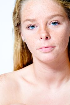 Free My Beauty Sensetive Face Stock Photography - 3344522