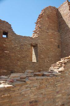 Free Anasazi Ruins, Chaco Canyon Stock Photo - 3344940