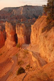 Free Sunrise, Bryce Canyon, Utah Stock Images - 3344994