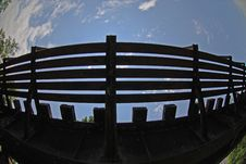 Deserted Railway Bridge Stock Image
