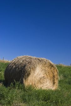 Roll Of Hay Stock Photos