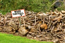 Free Wood For Sale Royalty Free Stock Photo - 3345785