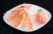 Free Shrimp In Ice Stock Images - 3346204