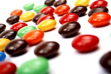 Free Colorful Candies Stock Image - 3346591