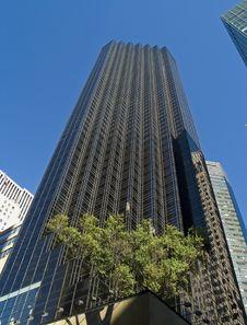 Blue Sky Building Stock Image