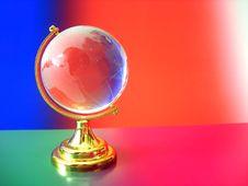 Free Glass Globe Of The World Stock Image - 3347141