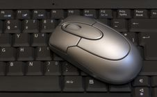 Free Keyboard And Mouse Royalty Free Stock Images - 3347399