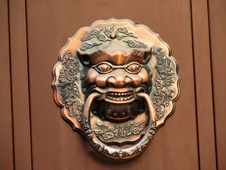 Free Chinese Traditional Knocker Royalty Free Stock Photography - 3347607