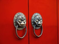 Free Chinese Traditional Knocker Stock Images - 3347664