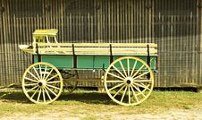 Free Old Horse Wagon Royalty Free Stock Image - 3348596