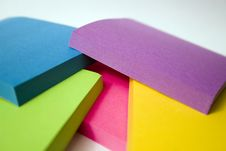 Free Stacked Sticky Notes Stock Photography - 3348602
