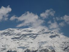 Free The Monuntain Snow Alpes Stock Images - 3348624