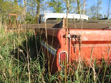 Free Rusty Truck S Tailgate Stock Photo - 3349610