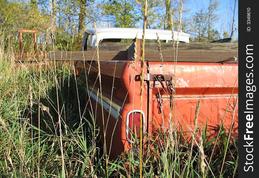 Rusty Truck s Tailgate