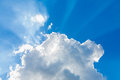 Free Clouds In The Blue Sky Royalty Free Stock Photos - 33403728
