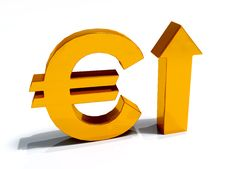 Free Euro Currency Increase Stock Image - 33402171