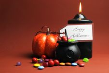Free Happy Halloween Trick Or Treat Stock Photos - 33402503