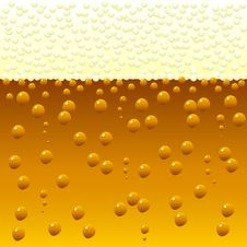Beer Background Stock Photo