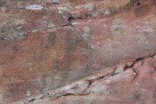 Free Surface Of Crack Stone As Background Royalty Free Stock Images - 33407319