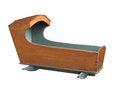 Free Vintage Baby Crib Isolated. Royalty Free Stock Photo - 33413545