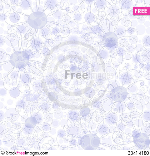Free Seamless Gentle Violet Grunge Pattern Stock Photo - 33414180